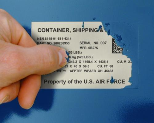 Voorbedrukte barcode etiketten